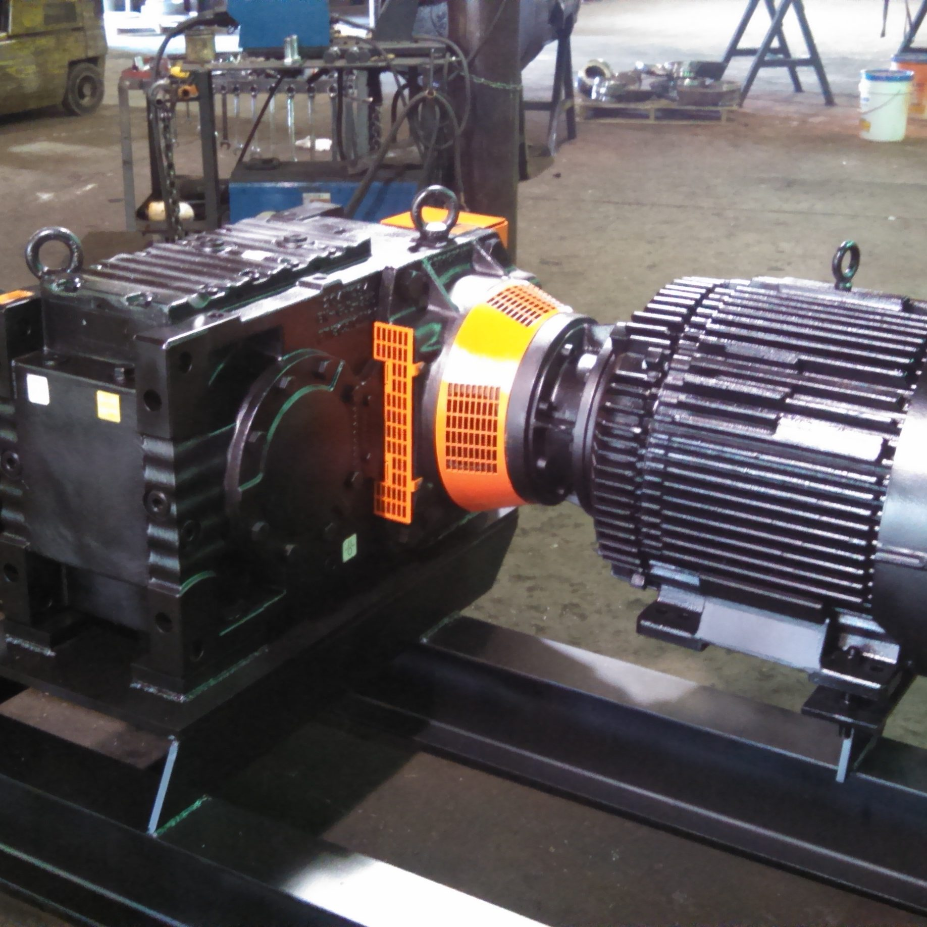 PreBreaker Motor to Drive Direct Coupling